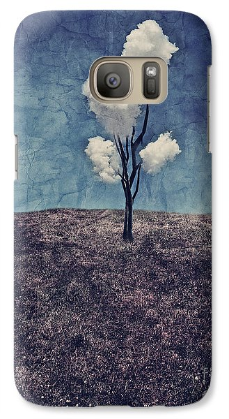 Tree Clouds 01d2 Galaxy S7 Case