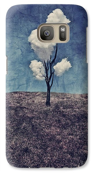 Tree Clouds 01d2 Galaxy S7 Case by Aimelle