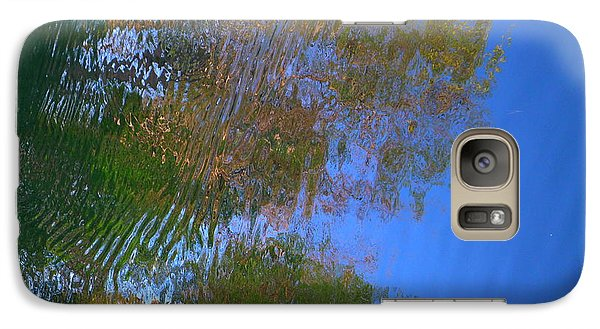 Galaxy Case featuring the photograph Tree Fantasy by Nora Boghossian