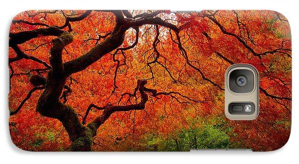 Tree Fire Galaxy S7 Case by Darren  White