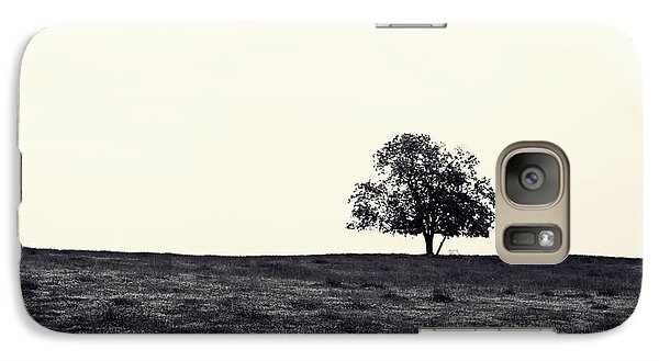 Galaxy Case featuring the photograph Tree In Field by Kara  Stewart