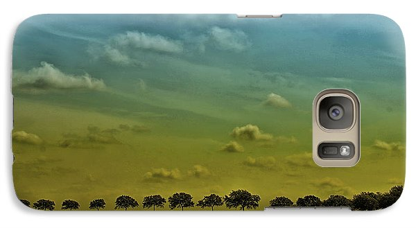 Galaxy Case featuring the photograph Tree Line by Susan D Moody
