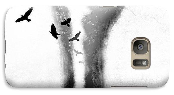 Galaxy Case featuring the photograph Tree by Mariusz Zawadzki