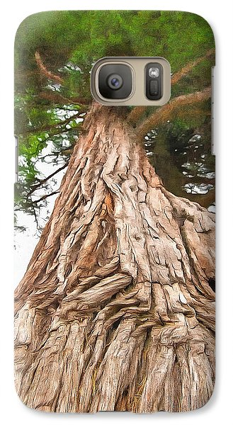 Galaxy Case featuring the photograph Tree Mass by Marion Johnson