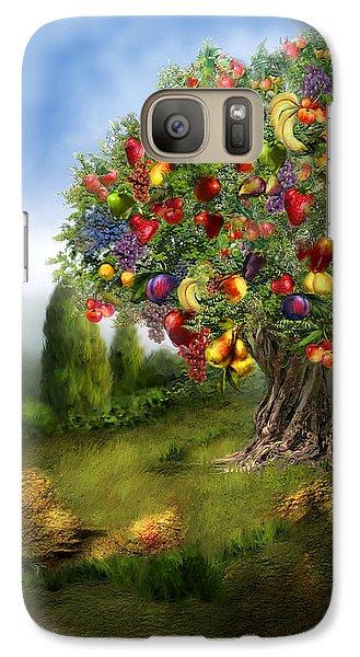 Tree Of Abundance Galaxy S7 Case