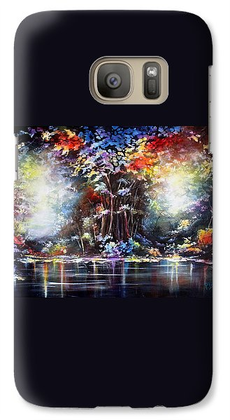 Galaxy Case featuring the painting Tree Of Life 2 by Patricia Lintner