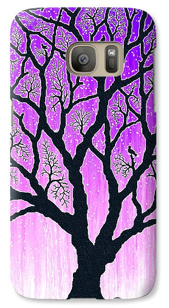 Galaxy Case featuring the digital art Tree Of Light 2 by Cristophers Dream Artistry