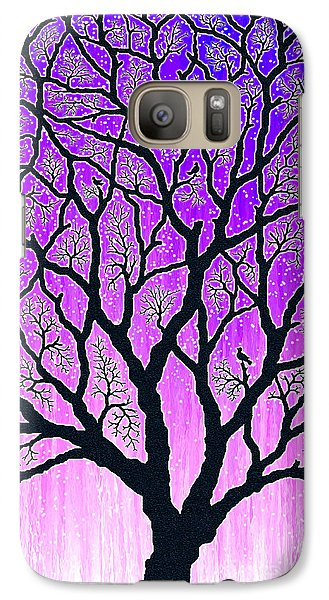 Galaxy Case featuring the digital art Tree Of Light by Cristophers Dream Artistry