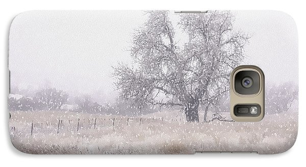 Galaxy Case featuring the photograph Tree Of Storm by Kristal Kraft