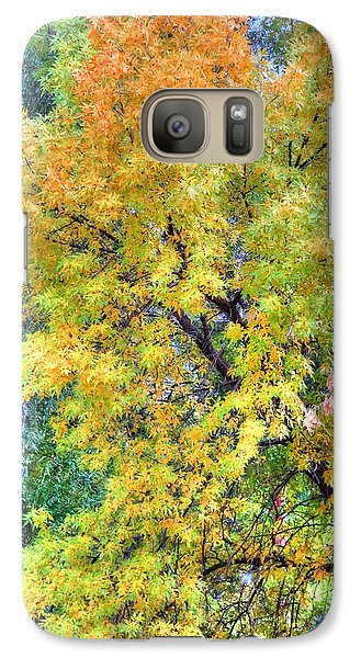 Galaxy Case featuring the photograph Tree On Fountain Creek by Lanita Williams