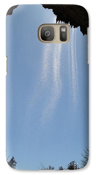 Galaxy Case featuring the photograph Tree Root Run-off by Kerri Mortenson