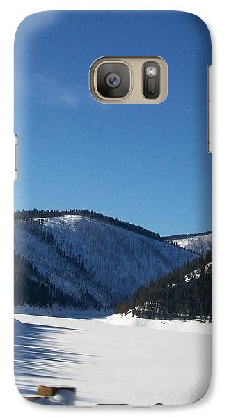 Galaxy Case featuring the photograph Tree Shadows by Jewel Hengen