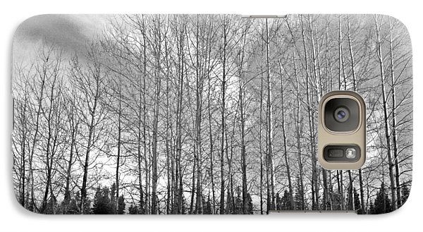 Galaxy Case featuring the photograph Tree Sweep by Tarey Potter