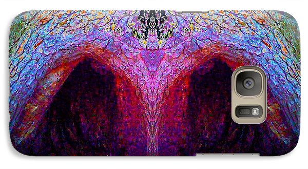 Galaxy Case featuring the photograph Tree Temple by Karen Newell