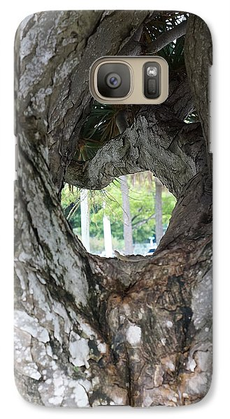 Galaxy Case featuring the photograph Tree View by Rafael Salazar