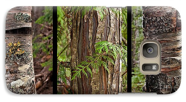 Galaxy Case featuring the photograph Tree Wear By Nature by Sandi Mikuse