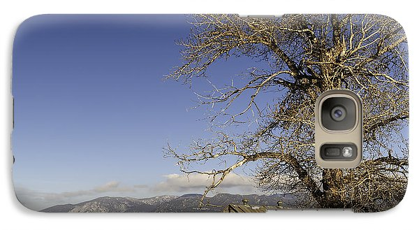 Galaxy Case featuring the photograph Tree With Barn by Sue Smith