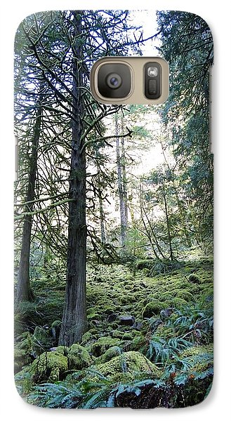 Galaxy Case featuring the photograph Treequility by Athena Mckinzie