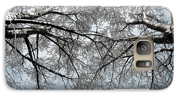Galaxy Case featuring the photograph Trees  1 by Minnie Lippiatt