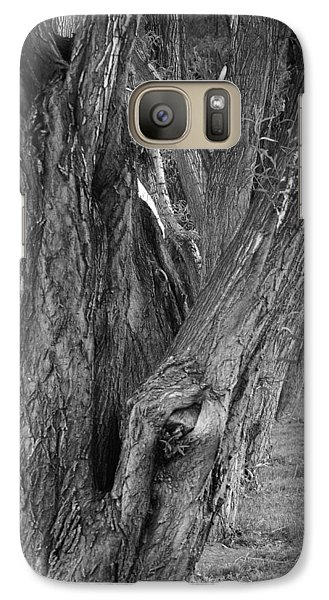 Galaxy Case featuring the photograph Trees by Angi Parks