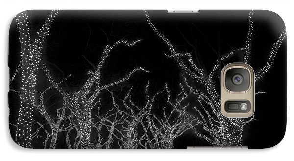 Galaxy Case featuring the photograph Trees Bejeweled by Jim Snyder