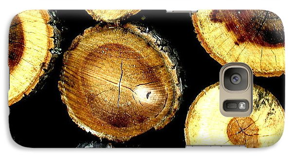 Galaxy Case featuring the photograph Trees End by Amy Sorrell