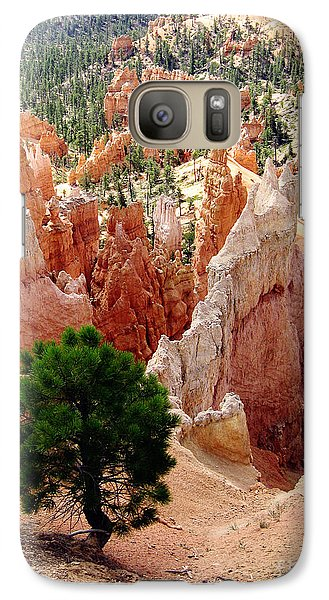 Galaxy Case featuring the photograph Tree's Eye View by Meghan at FireBonnet Art