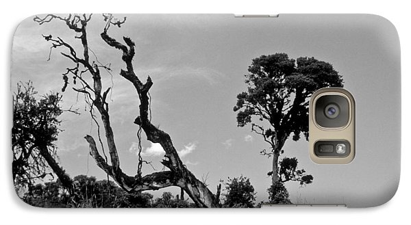 Galaxy Case featuring the photograph Trees In Cloud Forest by Lana Enderle