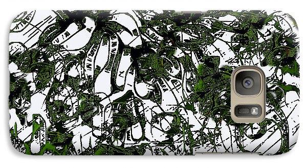 Galaxy Case featuring the digital art Trees  by Shabnam Nassir