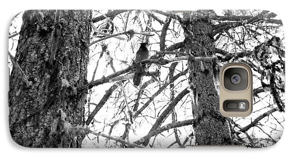Galaxy Case featuring the photograph Trees by Tarey Potter