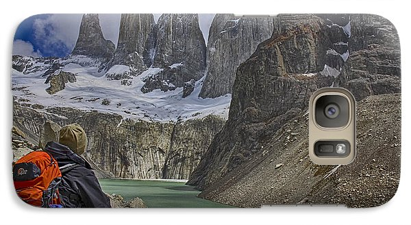 Galaxy Case featuring the photograph Trek To Torres Del Paine by Gary Hall