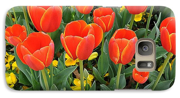 Trendy Tulips  Galaxy S7 Case