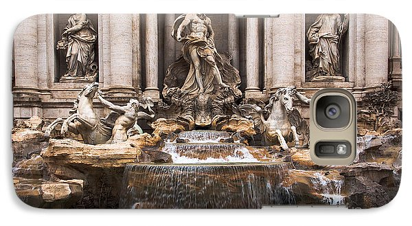 Galaxy Case featuring the photograph Trevi Fountain by John Wadleigh