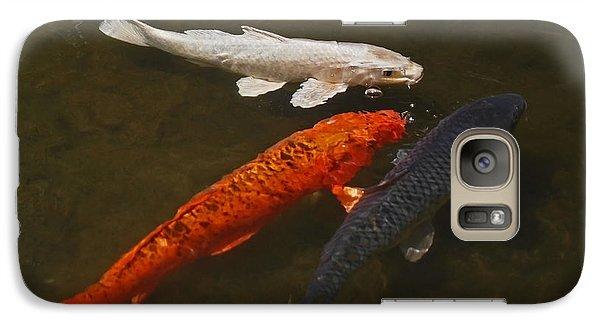 Tri-colored Koi Galaxy S7 Case