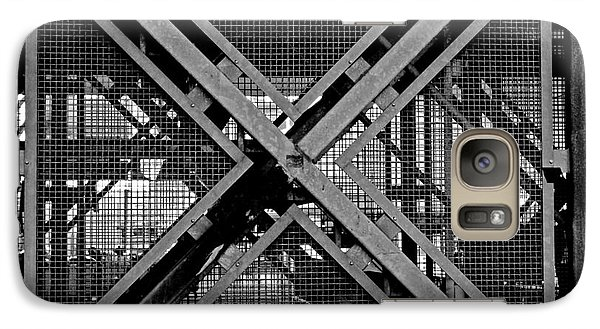 Galaxy Case featuring the photograph Triangle by Maja Sokolowska