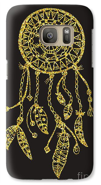Magician Galaxy S7 Case - Tribal Vector Dream Catcher With by Qilli