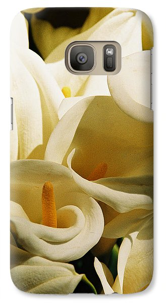Galaxy Case featuring the photograph Tribute To Georgia O'keefe by Michael Helfen