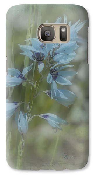 Galaxy Case featuring the photograph Tricia by Elaine Teague