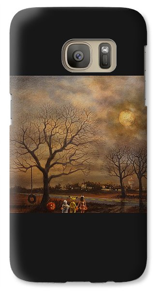 Trick-or-treat Galaxy Case by Tom Shropshire
