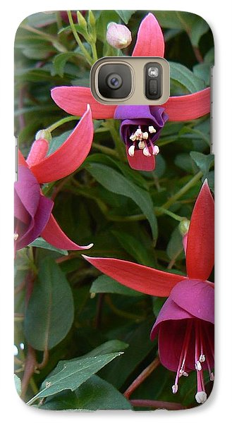 Galaxy Case featuring the photograph Trifecta by Michael Porchik