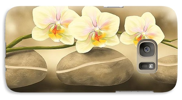 Orchid Galaxy S7 Case - Trilogy by Veronica Minozzi