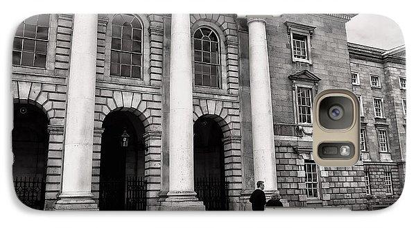 Galaxy Case featuring the photograph Trinity College Examination Hall by Menega Sabidussi