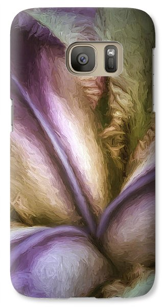 Galaxy Case featuring the photograph Trinity by Jean OKeeffe Macro Abundance Art