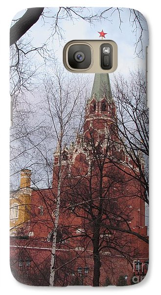 Trinity Tower At Dusk Galaxy S7 Case by Anna Yurasovsky