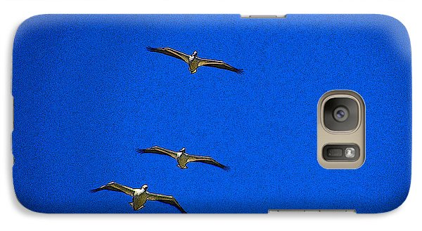 Galaxy Case featuring the photograph Trio by Tom DiFrancesca