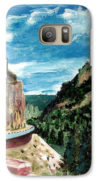 Galaxy Case featuring the painting Trip To Wyoming by Jim Phillips