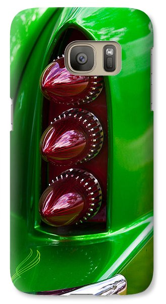 Galaxy Case featuring the photograph Triple Vertical Tail Lights by Mick Flynn