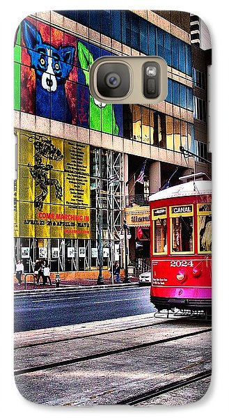Galaxy Case featuring the photograph Trolley Time by Robert McCubbin