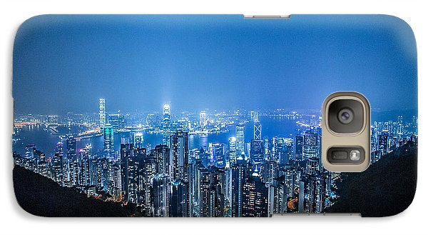 Galaxy Case featuring the photograph Tron Kong by Mike Lee