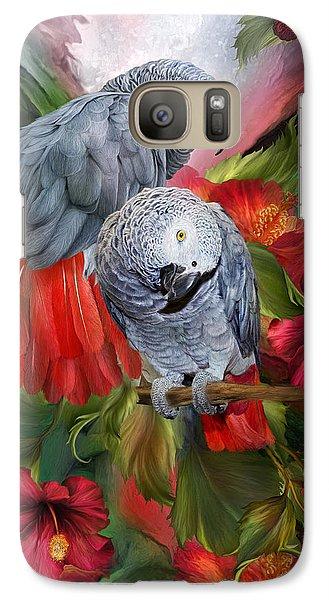 Tropic Spirits - African Greys Galaxy S7 Case
